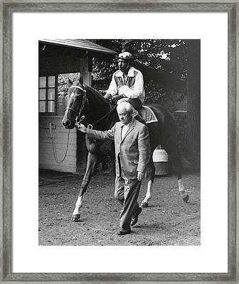 Secretariat Vintage Horse Racing #05 Framed Print by Retro Images Archive