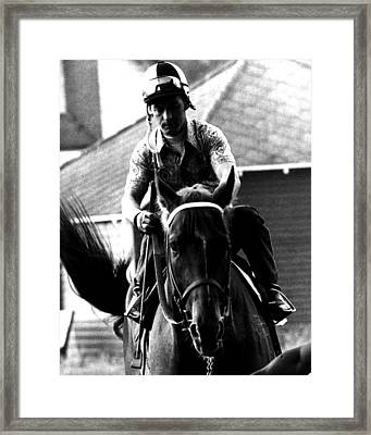 Secretariat Vintage Horse Racing #07 Framed Print by Retro Images Archive