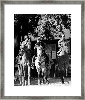 Secretariat Vintage Horse Racing #08 Framed Print by Retro Images Archive