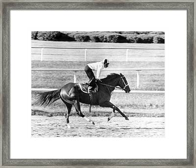 Secretariat Vintage Horse Racing #13 Framed Print by Retro Images Archive
