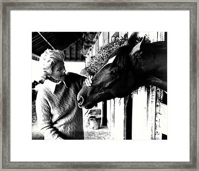 Secretariat Vintage Horse Racing #20 Framed Print by Retro Images Archive