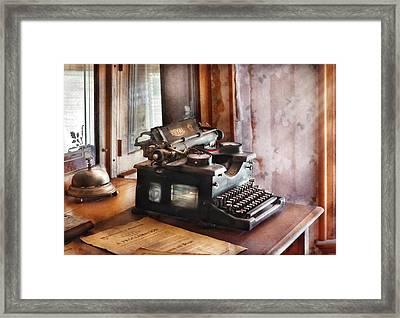 Secretary - Secretaries Day Framed Print by Mike Savad