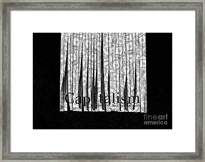 Secrets Behind The Veil Of Crony Capitalism Framed Print by Jorgo Photography - Wall Art Gallery