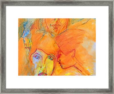Secrets Framed Print by Judith Redman