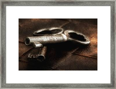 Secrets Kept Framed Print by Tom Mc Nemar