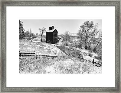 Secrets Of Oregon Framed Print by Darren  White