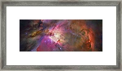 Secrets Of Orion Framed Print