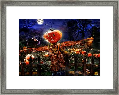 Secrets Of The Night Framed Print