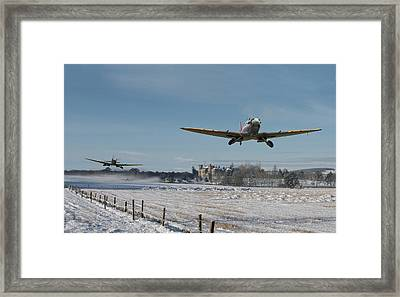 Section Scramble Framed Print