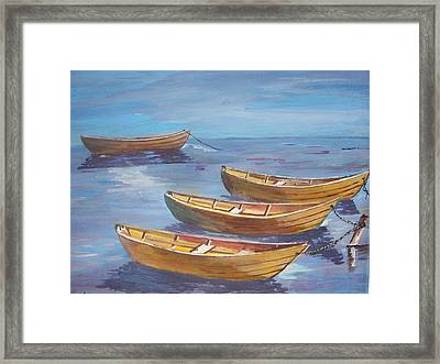 Secure For The Night Framed Print by Shirley Rush