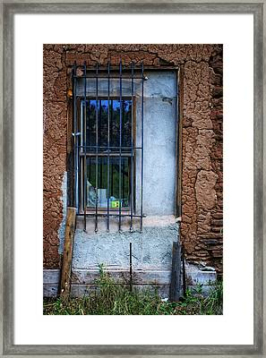 Secured Framed Print by Priscilla Burgers
