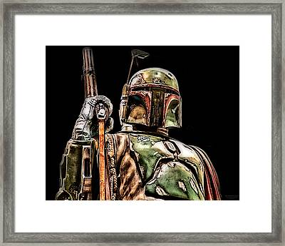 Securing The Cargo Framed Print