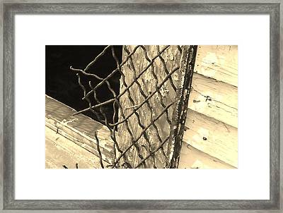 Security? Framed Print by Katie Spicuzza