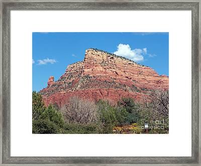 Sedona 10 Framed Print