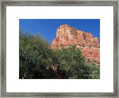 Framed Print featuring the photograph Sedona 2 by Tom Doud