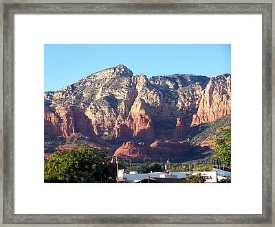 Framed Print featuring the photograph Sedona 3 by Tom Doud