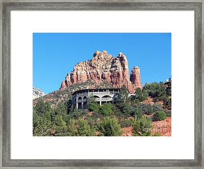 Framed Print featuring the photograph Sedona 4 by Tom Doud
