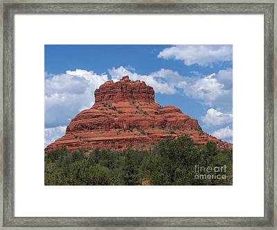 Framed Print featuring the photograph Sedona 5 by Tom Doud