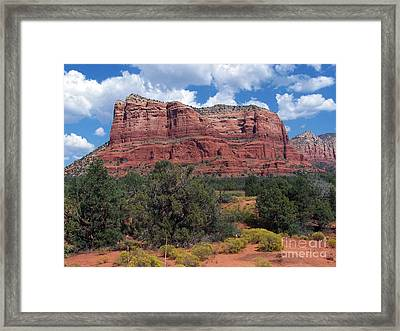 Framed Print featuring the photograph Sedona 6 by Tom Doud