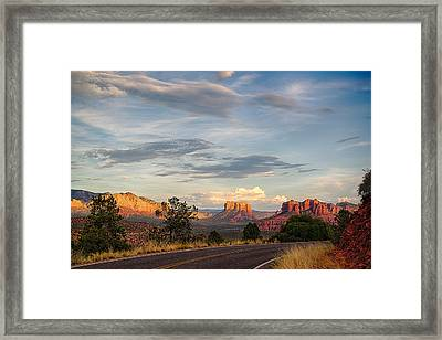 Sedona Arizona Allure Of The Red Rocks - American Desert Southwest Framed Print