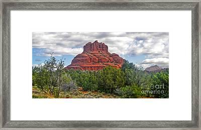 Sedona Arizona Bell Rock Framed Print by Gregory Dyer