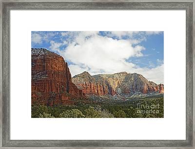 Sedona Arizona Landscape Framed Print by Nick  Boren
