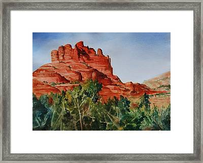 Sedona Arizona Framed Print