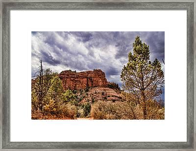 Sedona Arizona Mountain Scenery Framed Print