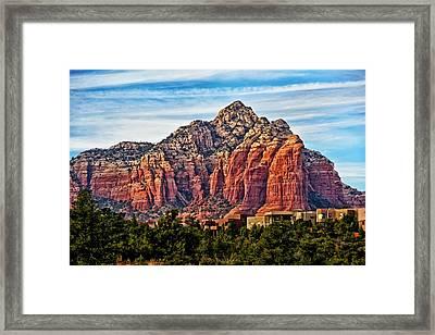 Sedona Arizona Red Rock Framed Print