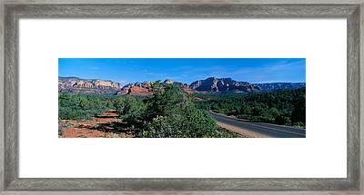 Sedona, Arizona, Usa Framed Print by Panoramic Images