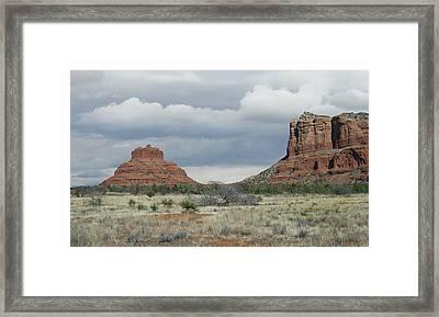 Sedona Beauty Framed Print by Gordon Beck