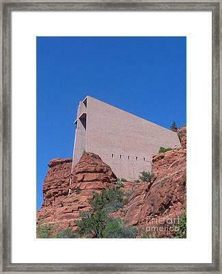 Sedona Chapel 1 Framed Print