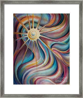 Sedona Charm Framed Print