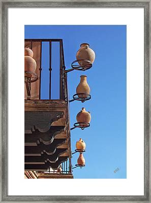 Sedona Jugs Framed Print