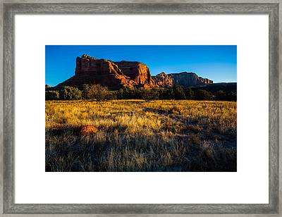 Sedona Light Framed Print by Bill Cantey