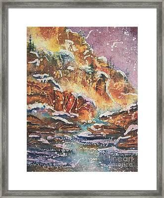 Sedona Magic Framed Print