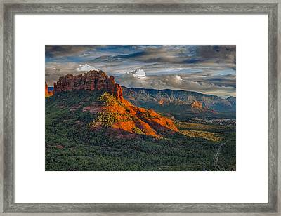 Sedona Magic Framed Print by Shanna Gillette