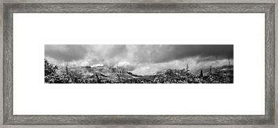 Sedona Primeval Framed Print