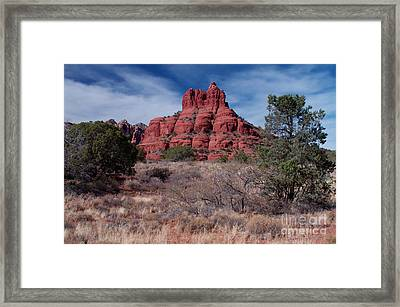 Sedona Red Rock Formations Framed Print