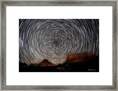 Sedona Trails Framed Print by Bill Cantey