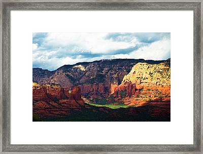 Sedona Sunrise Framed Print