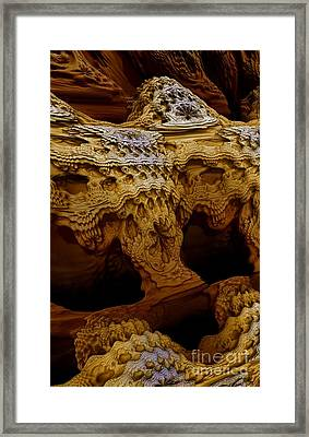 Framed Print featuring the digital art Sedona Vortex Inspiration by Steed Edwards