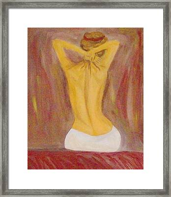 Seduce Me Framed Print