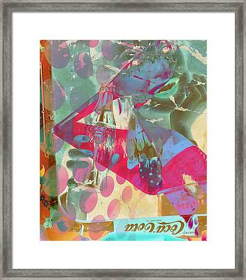 Seduction Of Soda  Framed Print by Jerry Cordeiro