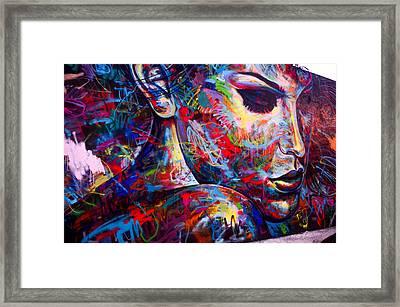 Seductive Art Framed Print by Laura Jimenez