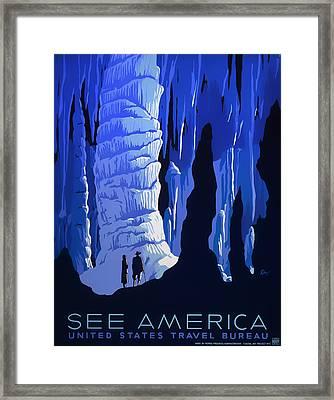 See America 1937 Framed Print