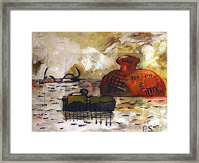 See Feel Write Archived Framed Print by Charlie Spear
