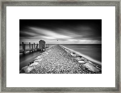 See How The Wind Blows Framed Print