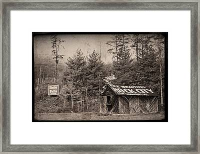 See Rock City  Framed Print by Debra and Dave Vanderlaan