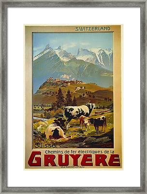 See Switzerland 1906 Framed Print